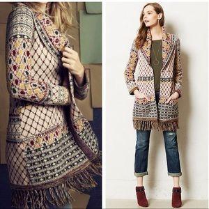ANTHROPOLOGIE Saptura LambsWool Sweater Coat